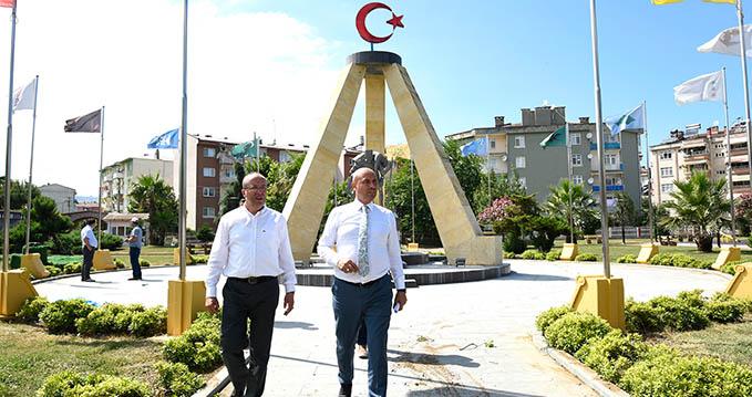 Tekkeköy'de Şehitler Anıtı Açılıyor