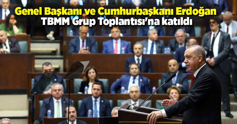 Ak Parti Genel Başkanı ve Cumhurbaşkanı Erdoğan, TBMM Grup Toplantısı'na katıldı