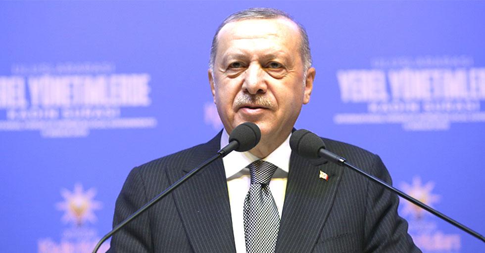 Cumhurbaşkanı Erdoğan, Uluslararası Yerel Yönetimlerde 6. Kadın Şurası'na katıldı
