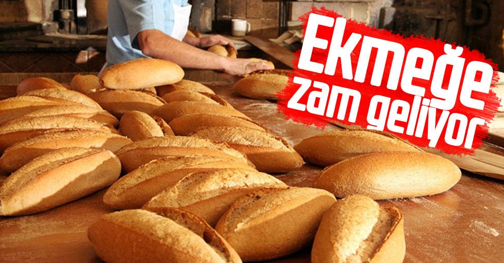 Ekmeğe zam geliyor