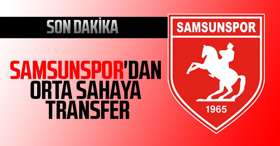 Yılport Samsunspor'dan orta sahaya transfer