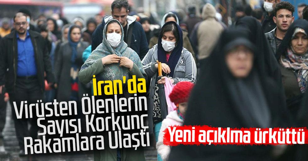 İran'da Virüsten Ölenlerin Sayısı Korkunç Rakamlara Ulaştı