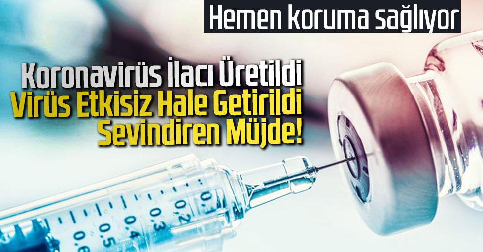 Koronavirüs İlacı Üretildi Virüs Etkisiz Hale Getirildi Sevindiren Müjde!