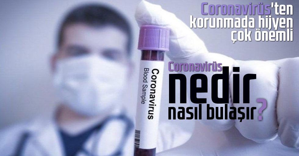 Koronavirüs'ten korunmada hijyen çok önemli