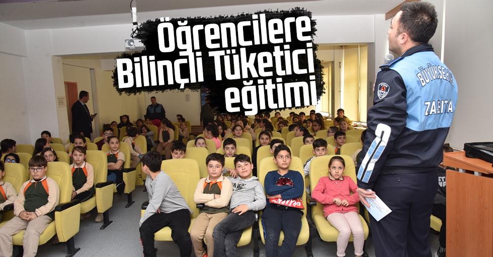 Öğrencilere 'Bilinçli Tüketici' eğitimi