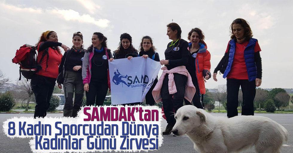 SAMDAK'tan 8 Kadın Sporcudan Dünya Kadınlar Günü Zirvesi