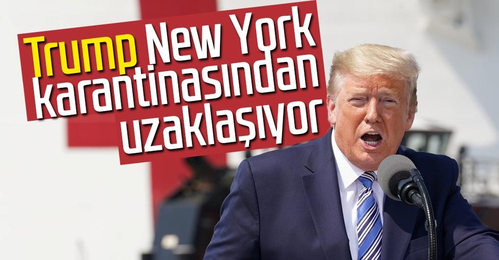 Trump, New York karantinasından uzaklaşıyor