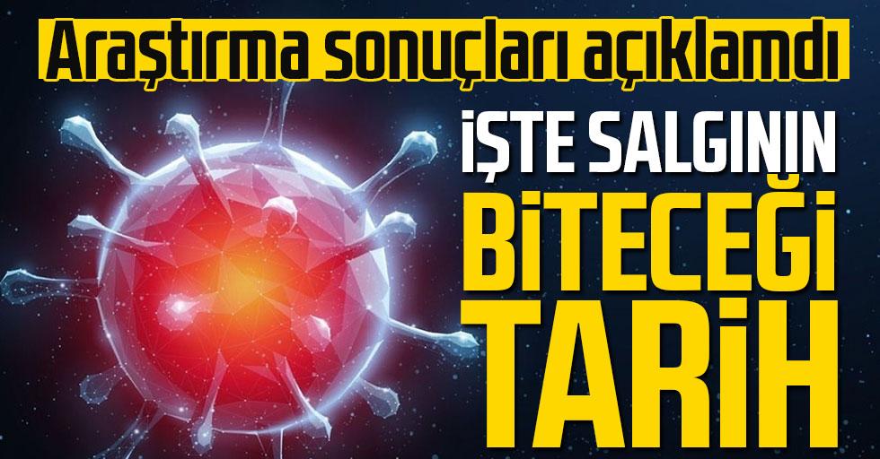 Türkiye'deki koronavirüs vakalarına ilişkin dikkat çeken araştırma! Salgının biteceği tarihi açıkladılar