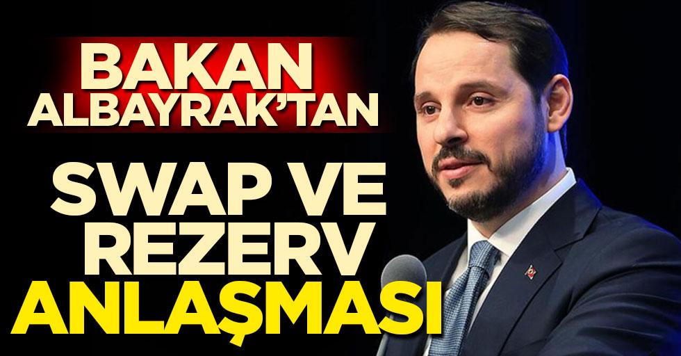 Hazine Bakanı Berat Albayrak: Birden fazla ülkeyle swap anlaşması olabilir