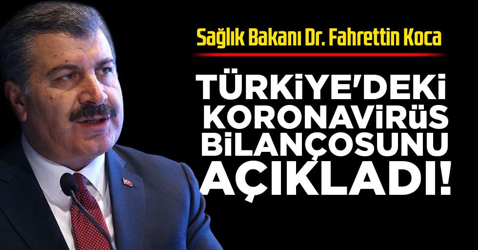 Son dakika: Sağlık Bakanı Koca 17 Mayıs koronavirüs vaka sayılarını açıkladı