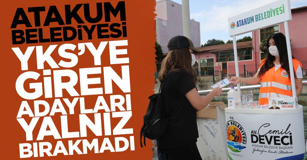 Atakum Belediyesi YKS'ye giren adayları yalnız bırakmadı