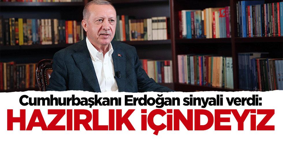 Cumhurbaşkanı Erdoğan sinyali verdi: Sosyal medya için hazırlık içindeyiz
