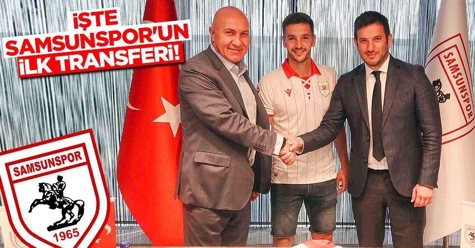 İşte Samsunspor'un İlk Transferi