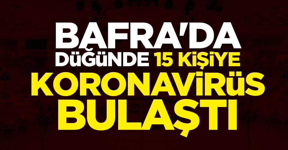 Samsun'da Düğünde Koronavirüs Kabusu!15 Kişiye Bulaştı