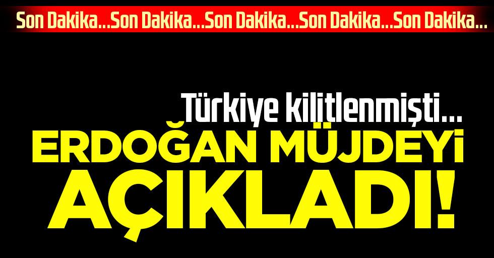 Son dakika haberi: İşte Türkiye'nin beklediği müjde! Cumhurbaşkanı Erdoğan canlı yayında açıklıyor