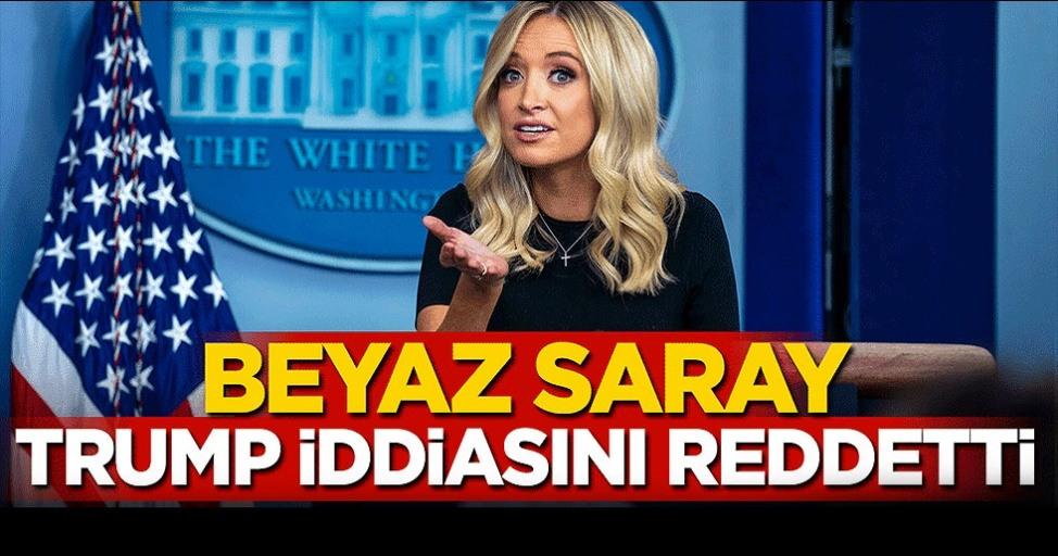 Beyaz Saray, Trump iddiasını reddetti