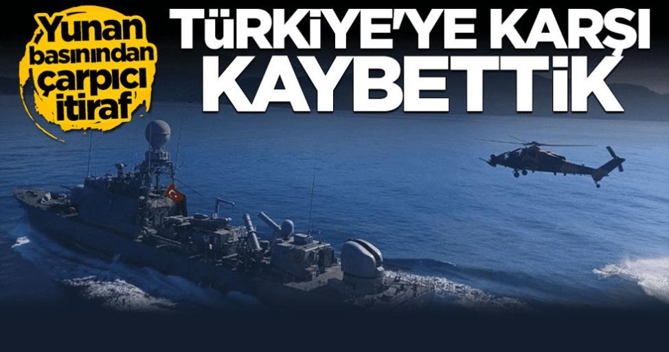 Yunan basınında Türkiye korkusu! Böyle duyurdular