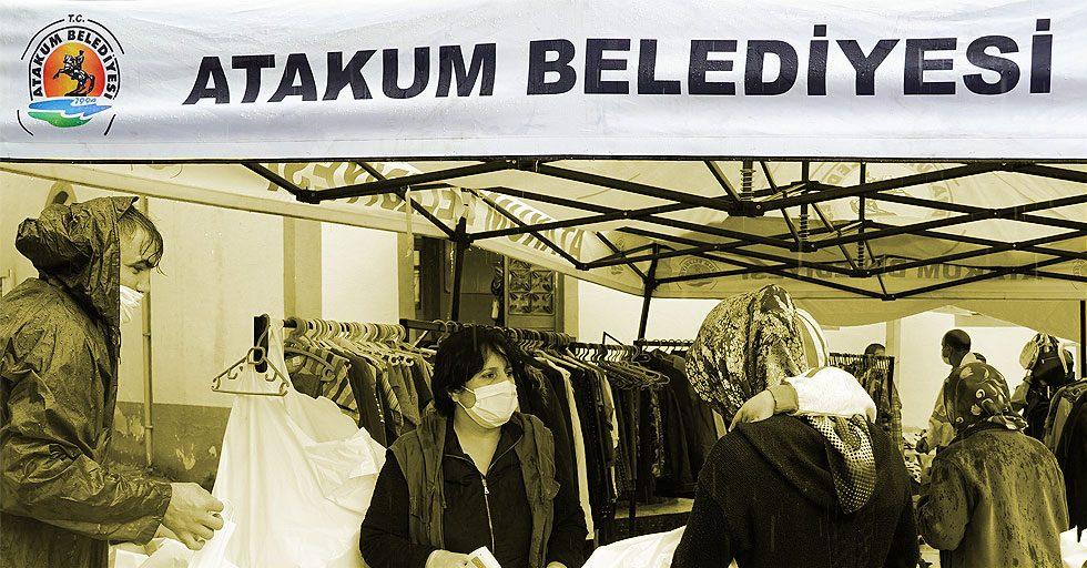 Atakum Belediyesi Paylaşım Merkezi gezici mağaza uygulamasına yeniden başladı