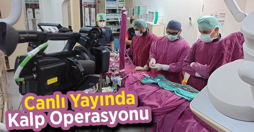 Canlı Yayında Kalp Operasyonu
