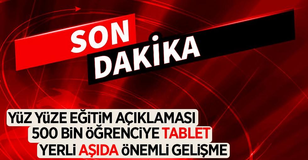 Cumhurbaşkanı Erdoğan'dan kabine toplantısı sonrası açıklamalar