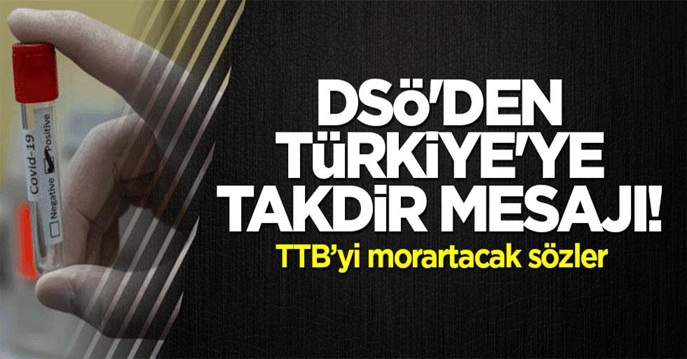 DSÖ'den Türkiye'ye takdir mesajı!