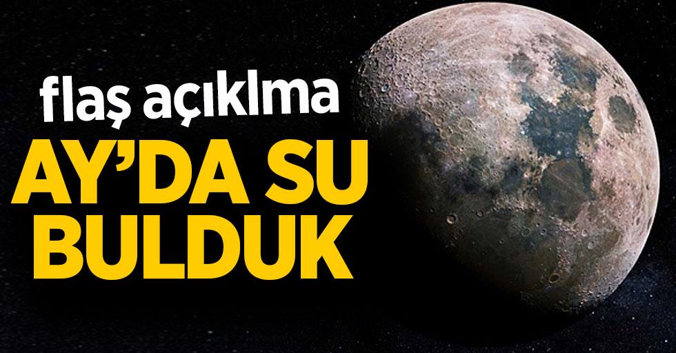 Flaş açıklama: Ay'da su bulduk!