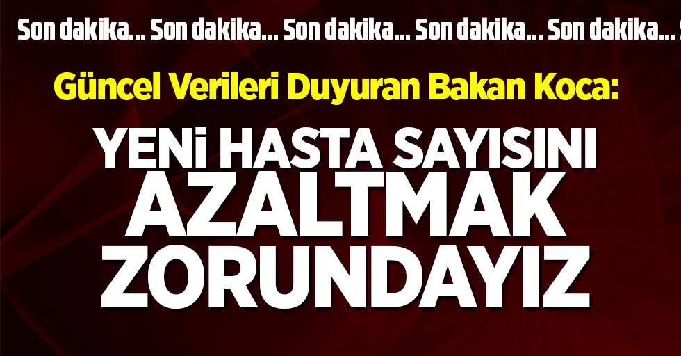 Son dakika… Türkiye'deki güncel corona verileri açıklandı! İşte 3 Ekim tablosu