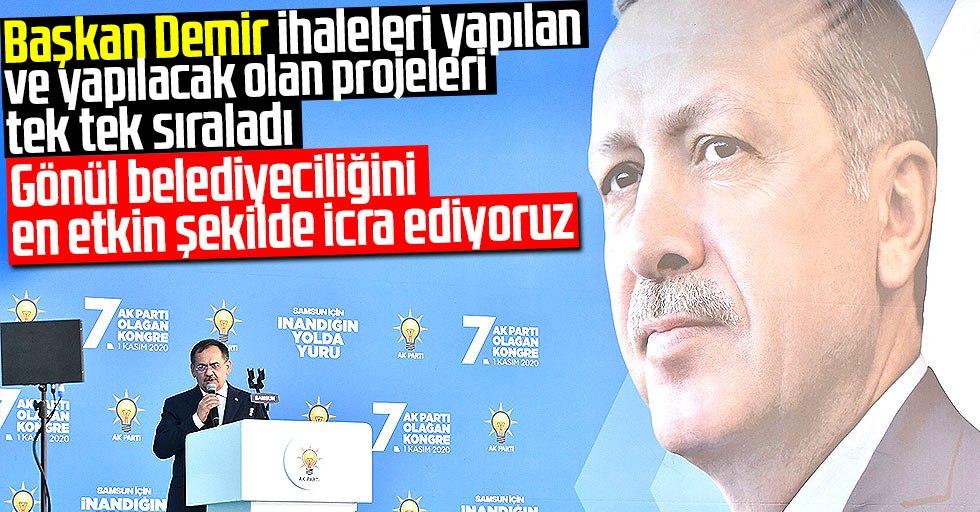 """Başkan Demir:""""Gönül belediyeciliğini en etkin şekilde icra ediyoruz"""""""