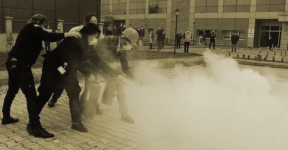 İtfaiyeden 'Yangın' eğitimi