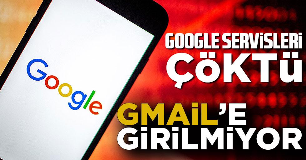 Gmail çöktü mü? Gmail ve Google Meet servislerinde erişim sorunu yaşanıyor