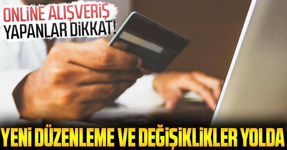 Online alışveriş yapanlar dikkat! Ticaret Bakanlığı hazırladı, yeni düzenlemeler yolda