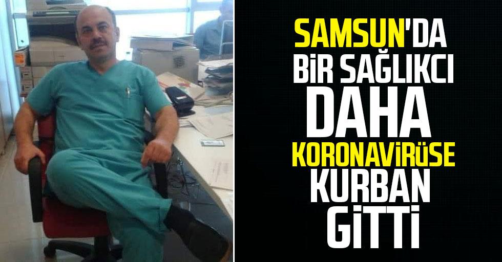 Samsun'da bir sağlık çalışanı daha koronavirüse kurban gitti