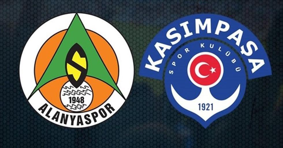 Aytemiz Alanyaspor Kasımpaşa maçını izle Bein Sports Netspor Canlı maç izle