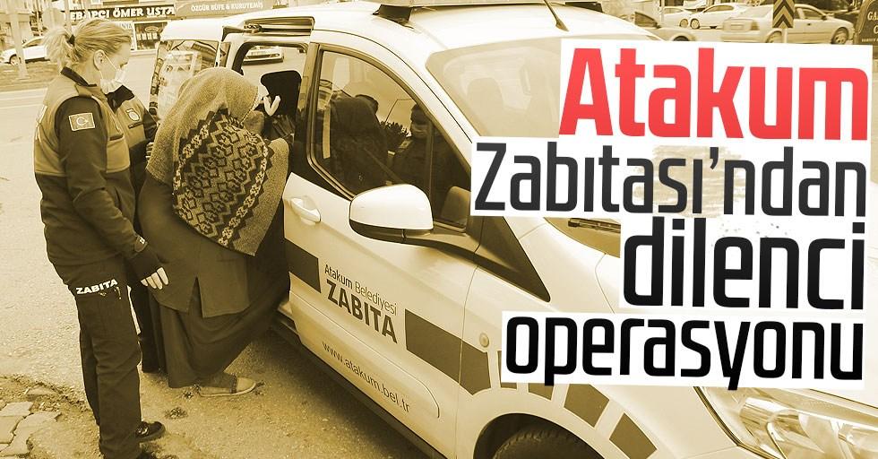 Atakum'da 14 dilenci suçüstü yakalandı