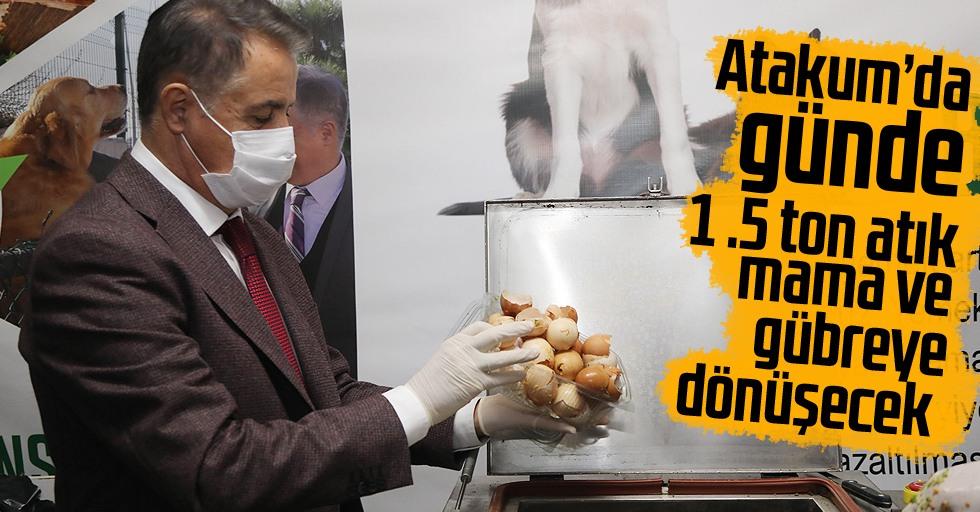 Atakum'da gıda israfı dönüşümle önlenecek
