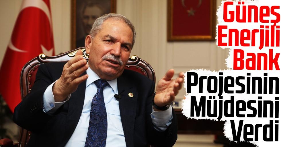 Başkan Demirtaş, Güneş Enerjili Bank Projesinin Müjdesini Verdi