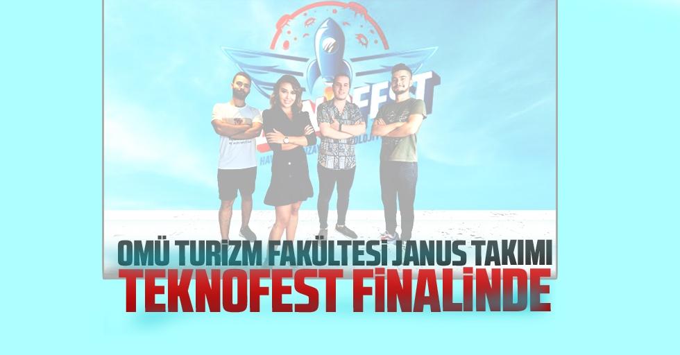 OMÜ Turizm Fakültesi Janus Takımı Teknofest Finalinde