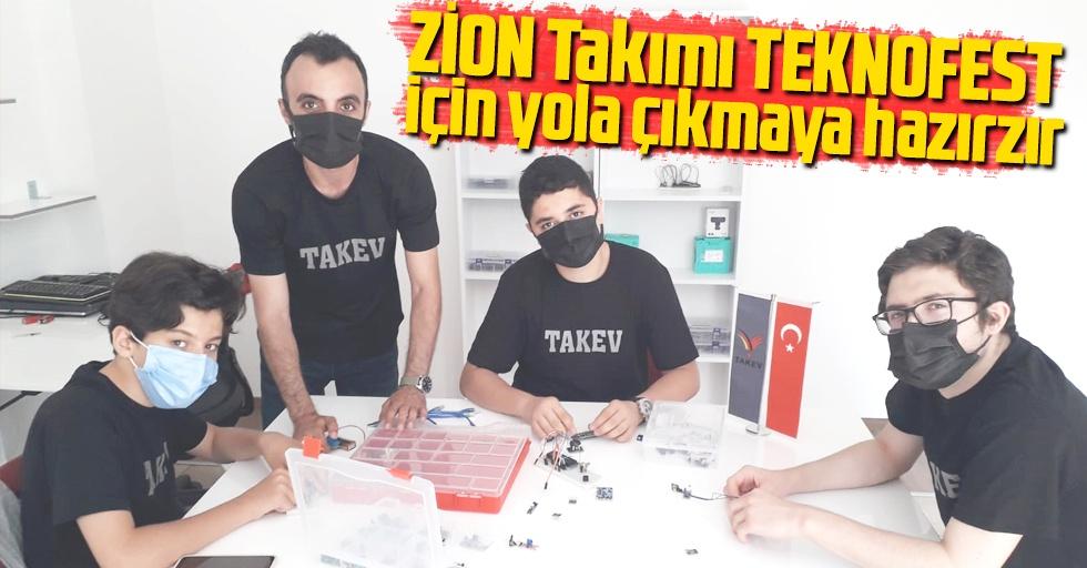 ZİON Takımı, TEKNOFEST için yola çıkmaya hazır