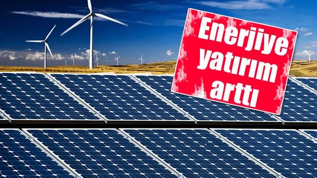 Enerjiye Yatırım Arttı