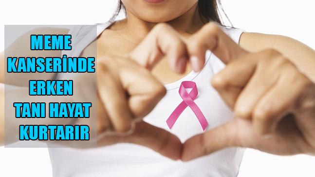 Meme Kanserinde Erken Tanı Hayat Kurtarır