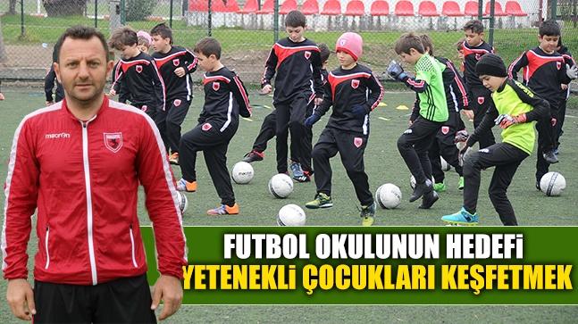 Futbol Okulunun Hedefi Yetenekli Çocukları Keşfetmek