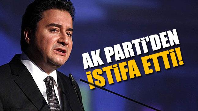 Ali Babacan Ak Parti'den İstifa Etti!