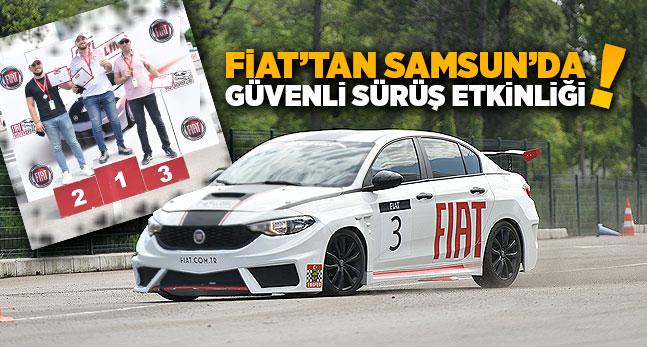 Fiat'tan Samsun'da Güvenli Sürüş Etkinliği!