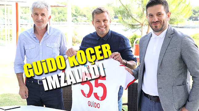 Guido Koçer İmzaladı