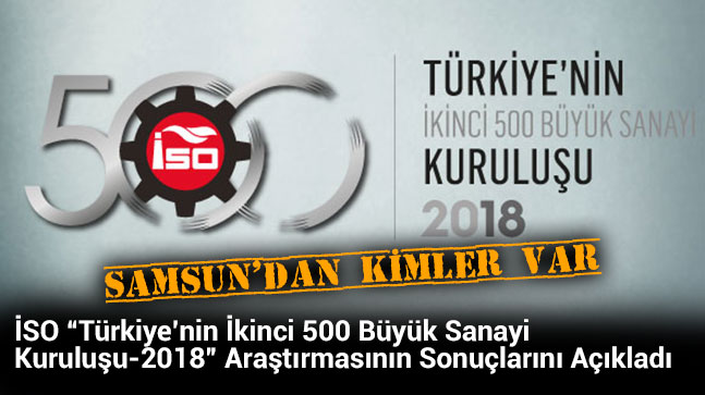 İkinci 500'de Samsun'dan On Firma