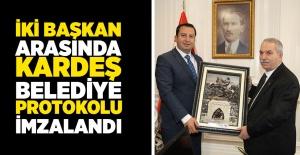 İlkadım Belediyesi Kosova Mamuşa İle Kardeş Belediye Oldu