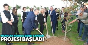 """Manolya Kokulu Şehir Samsun"""" projesi..."""