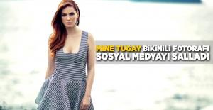 Mine Tugay Bikinili Fotorafı Sosyal Medyayı...