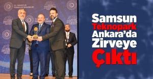 Samsun Teknopark Ankarada Zirveye...