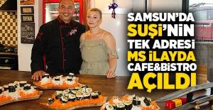 "Samsunda sushi""nin tek adresi..."